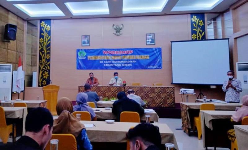 SD Almadany mengadakan Workshop Peningkatan Mutu Pembelajaran di Hotel Inna Tretes Pasuruan Jawa Timur, Sabtu sampai Ahad (24-25/9/21).