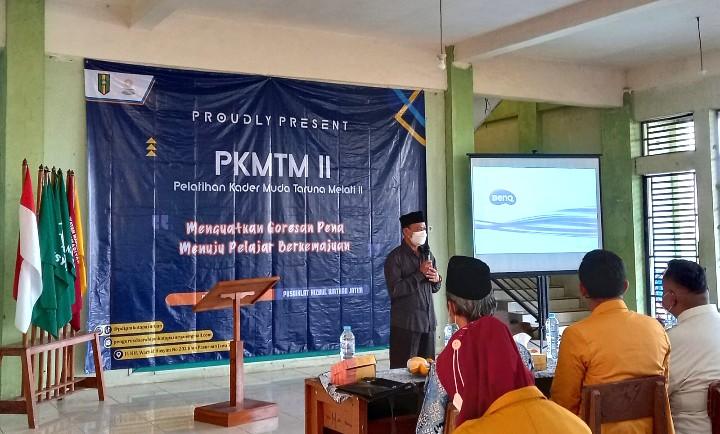 Abu Nasir kupas bekal pemimpin masa depan. Di Ketua Pimpinan Daerah Muhammadiyah (PDM) Kota Pasuruan ini mengupasnya pada pembukaan Pelatihan Kader Muda Taruna Melati II.